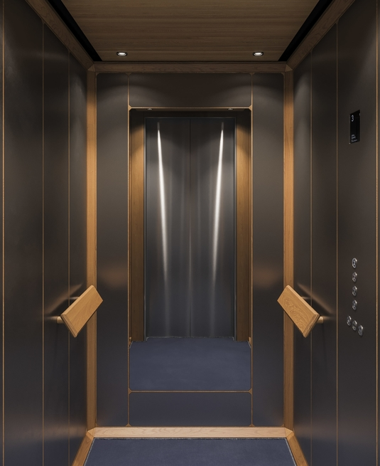 Mitsulift unveils new elevator cabin design series | Mitsulift